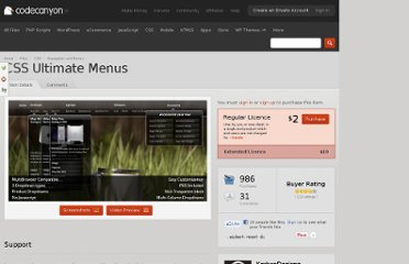 http://codecanyon.net/item/css-ultimate-menus/123107