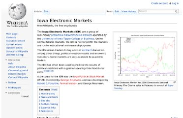 http://en.wikipedia.org/wiki/Iowa_Electronic_Markets
