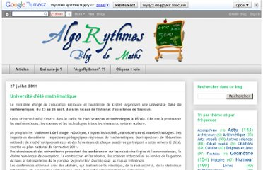 http://algorythmes.blogspot.com/2011/07/universite-dete-mathematique.html