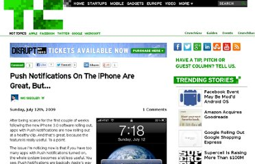 http://techcrunch.com/2009/07/12/push-notifications-on-the-iphone-are-great-but/
