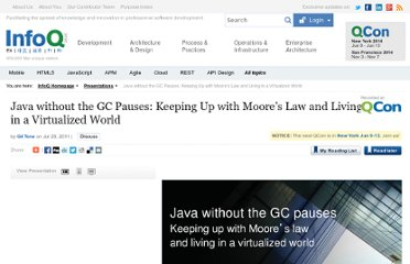 http://www.infoq.com/presentations/Java-without-the-GC-Pauses