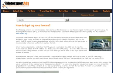 http://www.motorsportads.com/racing/how-do-i-get-my-race-licence.htm