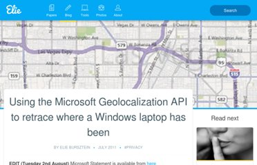 http://elie.im/blog/privacy/using-the-microsoft-geolocalization-api-to-retrace-where-a-windows-laptop-has-been/