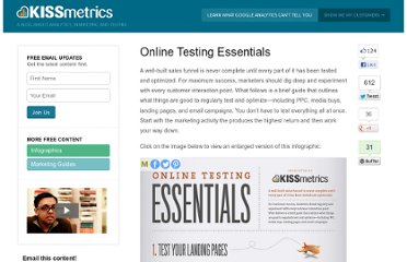 http://blog.kissmetrics.com/online-testing-essentials/