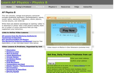 http://www.learnapphysics.com/apphysicsb/index.html