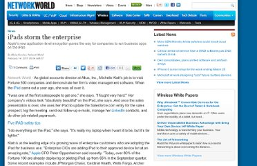 http://www.networkworld.com/news/2011/021411-ipads-enterprise.html