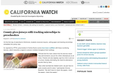 http://californiawatch.org/dailyreport/county-gives-jerseys-tracking-microchips-preschoolers-4392