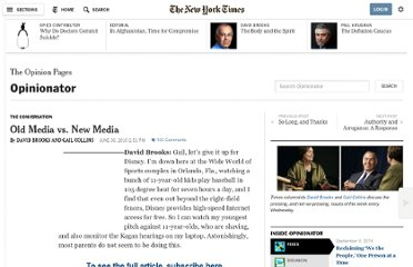 http://opinionator.blogs.nytimes.com/2010/06/30/old-media-v-new-media/