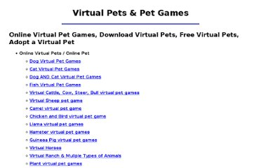 http://www.virtualpet.com/vp/links/links.htm