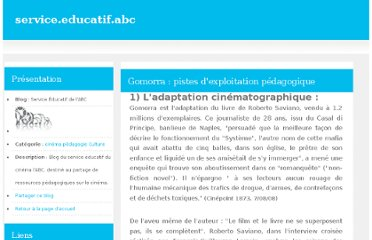 http://service.educatif.abc.over-blog.com/pages/Gomorra_pistes_dexploitation_pedagogique-868083.html
