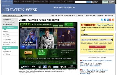 http://www.edweek.org/ew/articles/2011/03/17/25gaming.h30.html