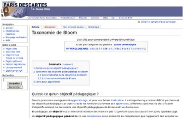 http://wiki.univ-paris5.fr/wiki/Taxonomie_de_Bloom