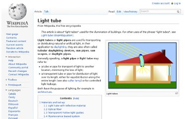 http://en.wikipedia.org/wiki/Light_tube