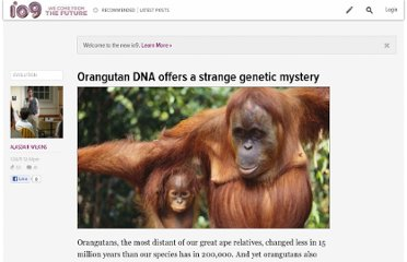 http://io9.com/5744132/orangutan-dna-offers-a-strange-genetic-mystery