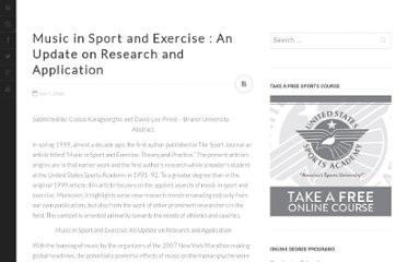 http://www.thesportjournal.org/article/music-sport-and-exercise-update-research-and-application