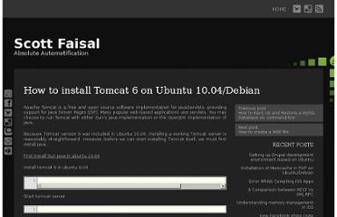 http://scottfaisal.com/how-to-install-tomcat-6-on-ubuntu-10-04debian/