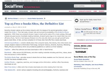http://socialtimes.com/top-25-free-e-books-sites-the-definitive-list_b7595