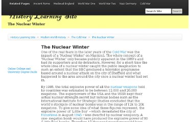 http://www.historylearningsite.co.uk/nuclear_winter.htm