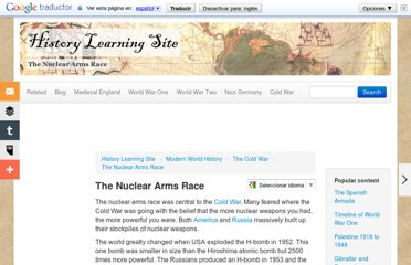 http://www.historylearningsite.co.uk/nuclear_arms_race.htm