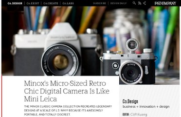 http://www.fastcodesign.com/1663570/minoxs-micro-sized-retro-chic-digital-camera-is-like-mini-leica