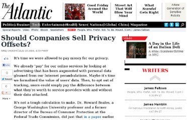 http://www.theatlantic.com/technology/archive/2010/08/should-companies-sell-privacy-offsets/60923/