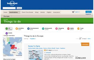 http://www.lonelyplanet.com/europe/things-to-do