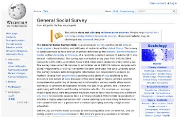 http://en.wikipedia.org/wiki/General_Social_Survey