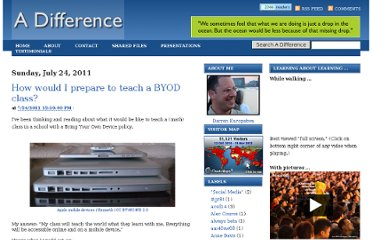 http://adifference.blogspot.com/2011/07/how-would-i-prepare-to-teach-byod-class.html