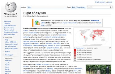 http://en.wikipedia.org/wiki/Right_of_asylum#Modern_political_asylum