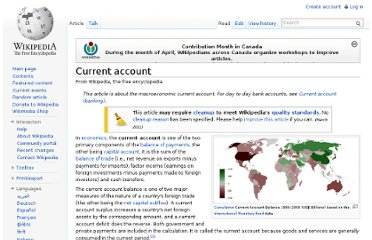 http://en.wikipedia.org/wiki/Current_account