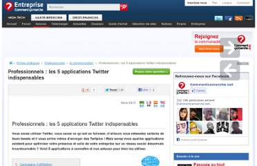 http://www.commentcamarche.net/faq/25928-professionnels-les-5-applications-twitter-indispensables