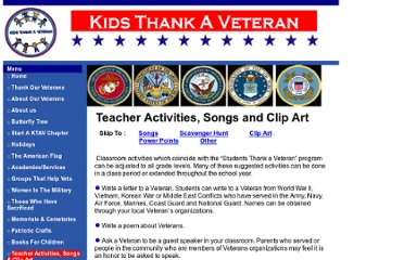 http://www.kidsthankavet.com/?path=activities