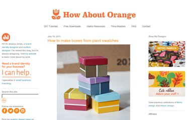 http://howaboutorange.blogspot.com/2011/07/how-to-make-boxes-from-paint-swatches.html