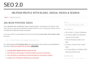 http://seo2.0.onreact.com/101-blog-posting-ideas