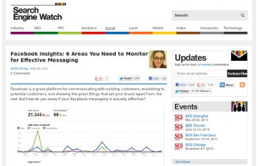 http://searchenginewatch.com/article/2097426/Facebook-Insights-6-Areas-You-Need-to-Monitor-for-Effective-Messaging