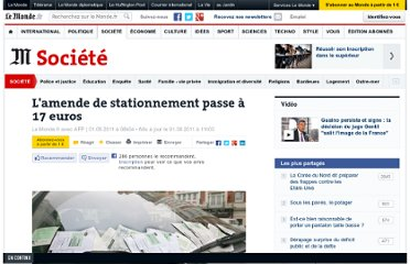 http://www.lemonde.fr/societe/article/2011/08/01/pv-de-stationnement-l-amende-passe-a-17-euros_1554723_3224.html#xtor=RSS-3208001?utm_source=twitterfeed&utm_medium=twitter