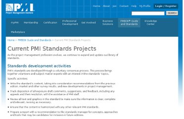 http://www.pmi.org/PMBOK-Guide-and-Standards/Standards-Current-PMI-Standards-Projects.aspx