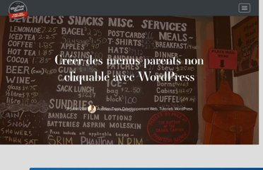 http://wpchannel.com/creer-des-menus-parents-non-cliquable-avec-wordpress/