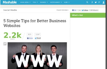 http://mashable.com/2011/08/01/tips-better-website/