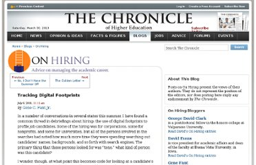 http://chronicle.com/blogs/onhiring/tracking-digital-footprints/29177