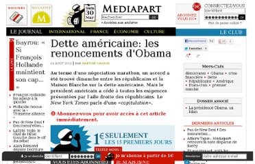 http://www.mediapart.fr/journal/international/010811/dette-americaine-les-renoncements-dobama