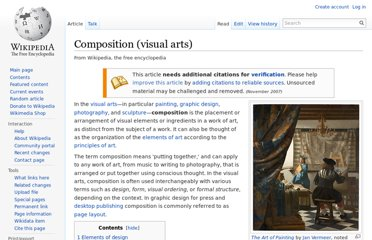 http://en.wikipedia.org/wiki/Composition_(visual_arts)