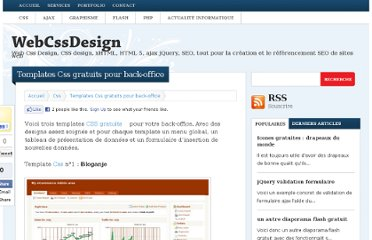 http://www.webcssdesign.com/css/templates-css-gratuits-pour-back-office/