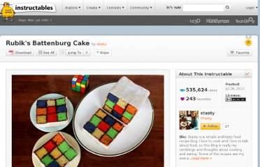 http://www.instructables.com/id/Rubiks-Battenburg-Cake/
