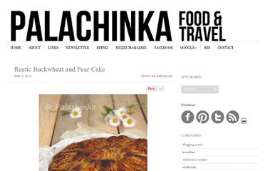 http://palachinkablog.com/rustic-buckwheat-and-pear-cake/