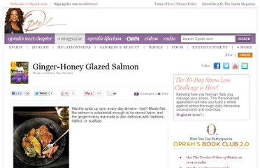 http://www.oprah.com/food/Ginger-Honey-Glazed-Salmon
