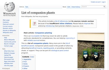 http://en.wikipedia.org/wiki/List_of_companion_plants