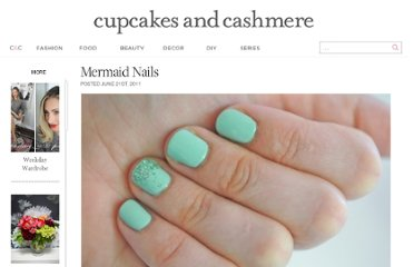 http://cupcakesandcashmere.com/mermaid-nails/