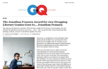 http://www.gq.com/entertainment/books/201012/jonathan-franzen-profile-chuck-klosterman-freedom?printable=true