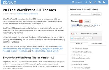 http://slodive.com/freebies/wordpress-3-themes/